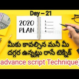 ADVANCED SCRIPTING: The Law Of Attraction Technique in Telugu That Makes Manifesting EASY