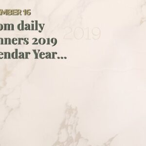 bloom daily planners 2019 Calendar Year Hardcover Vision Planner (January 2019 - December 2019)...