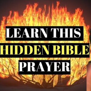 A 2 Minute Prayer To Manifest Anything You Want / The Bible Secret