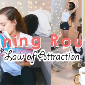 Law of Attraction Morning Routine | How To Have A Productive & Positive Day!