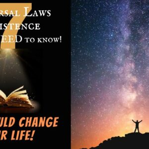7 Universal Laws of Existence ✨ Law of Attraction ✨ Understand this and You'll MANIFEST FASTER‼ ⏭🔜