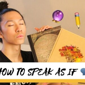 HOW TO SPEAK INTO EXISTENCE 🗣👏 | LAW OF ATTRACTION SCRIPTING ✏️🔮
