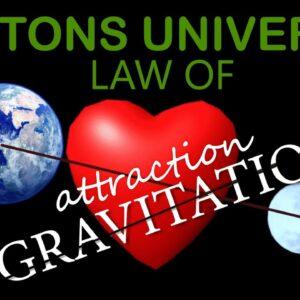 "Hindi: NEWTONS UNIVERSAL LAW OF ATTRACTION ""GRAVITATION"""