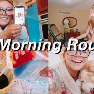 MY 8AM MORNING ROUTINE | Law of Attraction Planner, Workout Routine, Planning my Week!