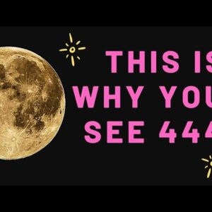 444 MEANING! Spiritual Meaning Of The Number 444! � Law of Attraction.