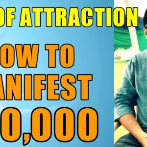 MANIFESTATION #48: Attract Money with Law of Attraction (EXACT AMOUNT) - Success Story