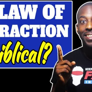Is The Law Of ATTRACTION in Proverbs 18 21 in the Bible?