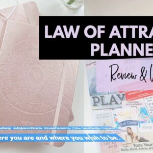 Law of Attraction Planner & Manifestation Journal Can Be Fun For Anyone