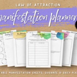 The Ultimate Guide To 76 Best Law of Attraction Planner images - Planner, Passion