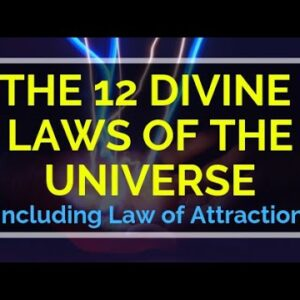 Manifest using the 12 Divine Universal Laws🌟  (Not just Law of Attraction)