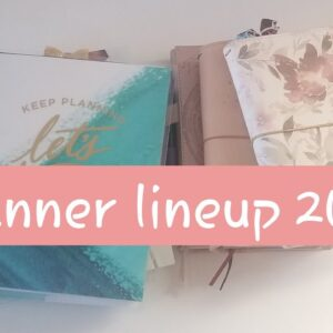 Planner lineup 2021 / traveler's notebook / recollections / LOA