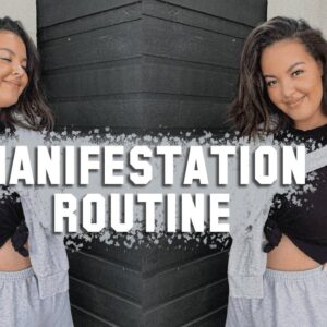 My Manifestation Routine *law of attraction, subliminals, scripting*   Your Girl Karly