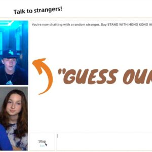 teen girls go on omegle for the first time...
