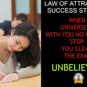 LOA SUCCESS STORY 9 || CLEAR THE EXAM USING LAW OF ATTRACTION || AMAZING STORY || MUST WATCH 😍