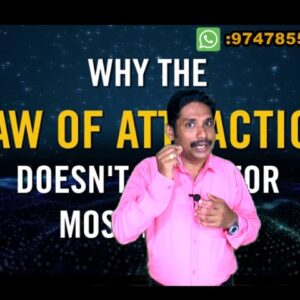 How does the law of attraction work?Malayalam motivational video by Madhu Baalan