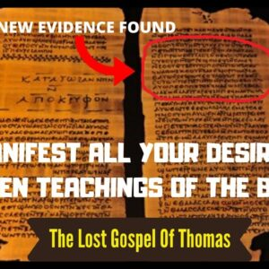 THE LOST TEACHING OF JESUS ABOUT MANIFESTATION (Law Of Attraction)
