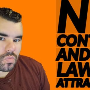 THE NO CONTACT RULE  AND LAW OF ATTRACTION