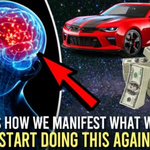This Is How To Manifest What You Want (we forgot about this!)