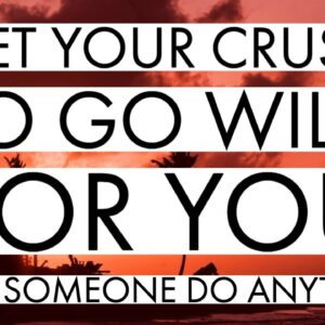 Get your crush to go wild for you... MAKE SOMEONE DO ANYTHING YOU WANT (Law of attraction)