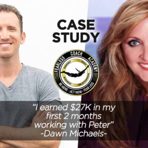 Law of Attraction Coach earns $27K in 2 months - Fearless Coach Academy Case Study
