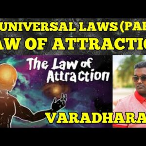 21 UNIVERSAL LAWS ( PART 1 ) | LAW OF ATTRACTION | TAMIL | VARADHARAJA | WISDOM VIBES