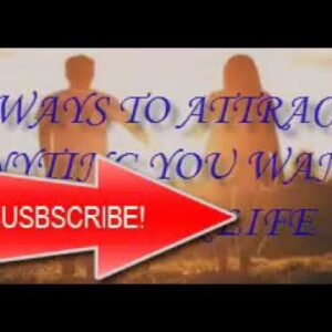 Law of Attraction: Attract anything using the universal law of attraction!