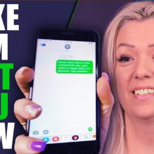 Make Him Text You Now: Law of Attraction Guided Meditation | WORKS LIKE MAGIC! TRY IT!