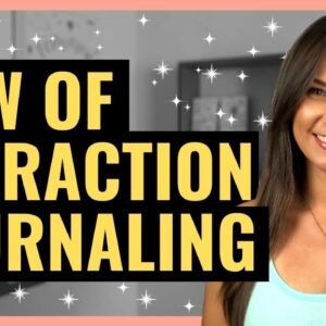 How I MANIFEST ANYTHING Using Scripting - Manifestation Journal - Law of Attraction Success!!