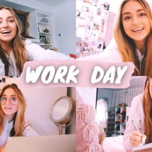 a day in my life: youtuber & beginner actress!