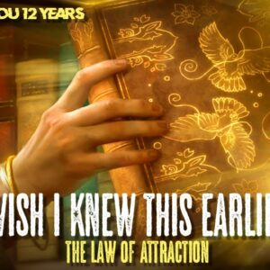 I Wish I Learned This Earlier About LAW OF ATTRACTION (learn this now!)