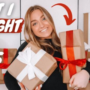 wrapping presents & embarrassing stories...
