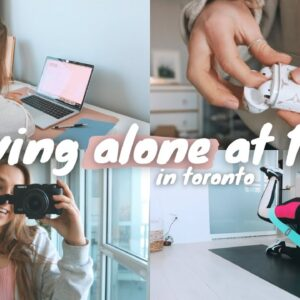 a REAL day in my life (living alone at 18)