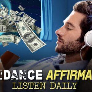 AFFIRMATIONS FOR ABUNDANCE | Start To Manifest Abundance NOW! (listen daily)
