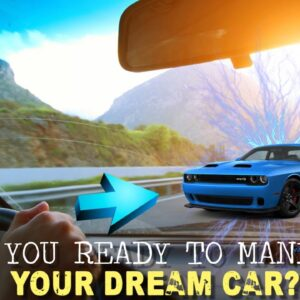 How To MANIFEST Your DREAM CAR! (REAL powerful method)