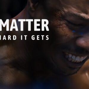 NO MATTER HOW HARD IT GETS - Best Motivational Speech for 2021