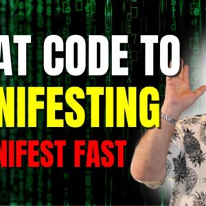 CHEAT CODE To Manifesting | 5 Plus 1  Technique | Law of Attraction