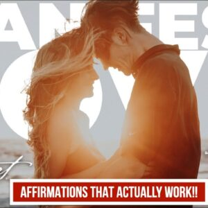 Create Power Affirmations to Attract Love & Relationship FAST | Law of Attraction HACK! [MUST TRY!!]