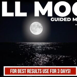 Powerful Full Moon Meditation: Connect, Cleanse, Heal & Set Your Intentions for 2021 Manifestations