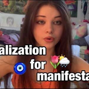 how to manifest ANYTHING with visualization