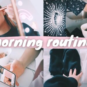 my new 2021 morning routine