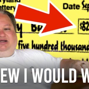 He KNEW HE WOULD WIN! | Wiccan Wins Mega Millions Jackpot! (law of attraction)