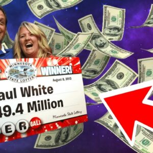 """Lottery Winner KNEW It would HAPPEN! """"I went over this moment in my head SO many times!"""