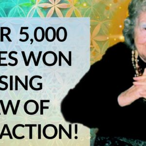 Amazing PROOF of LAW OF ATTRACTION (5000 plus prizes won)