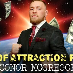 Conor McGregor Used LAW OF ATTRACTION (motivating!)