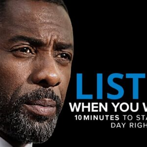 10 Minutes to Start Your Day Right! - MORNING MOTIVATION   Motivational Speech 2021