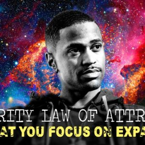 Big Sean Tells Us How to MANIFEST! (celebrity law of attraction tips)