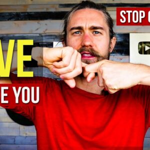 Love will Chase You when you STOP giving a sh*t (Importance = resistance)