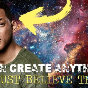 """Will Smith Law Of Attraction """" i can create anything i want"""" (inspiring!)"""