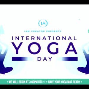 IAC International Yoga Day