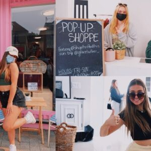 bts of the pop-up shop & MEETING YOU !!!